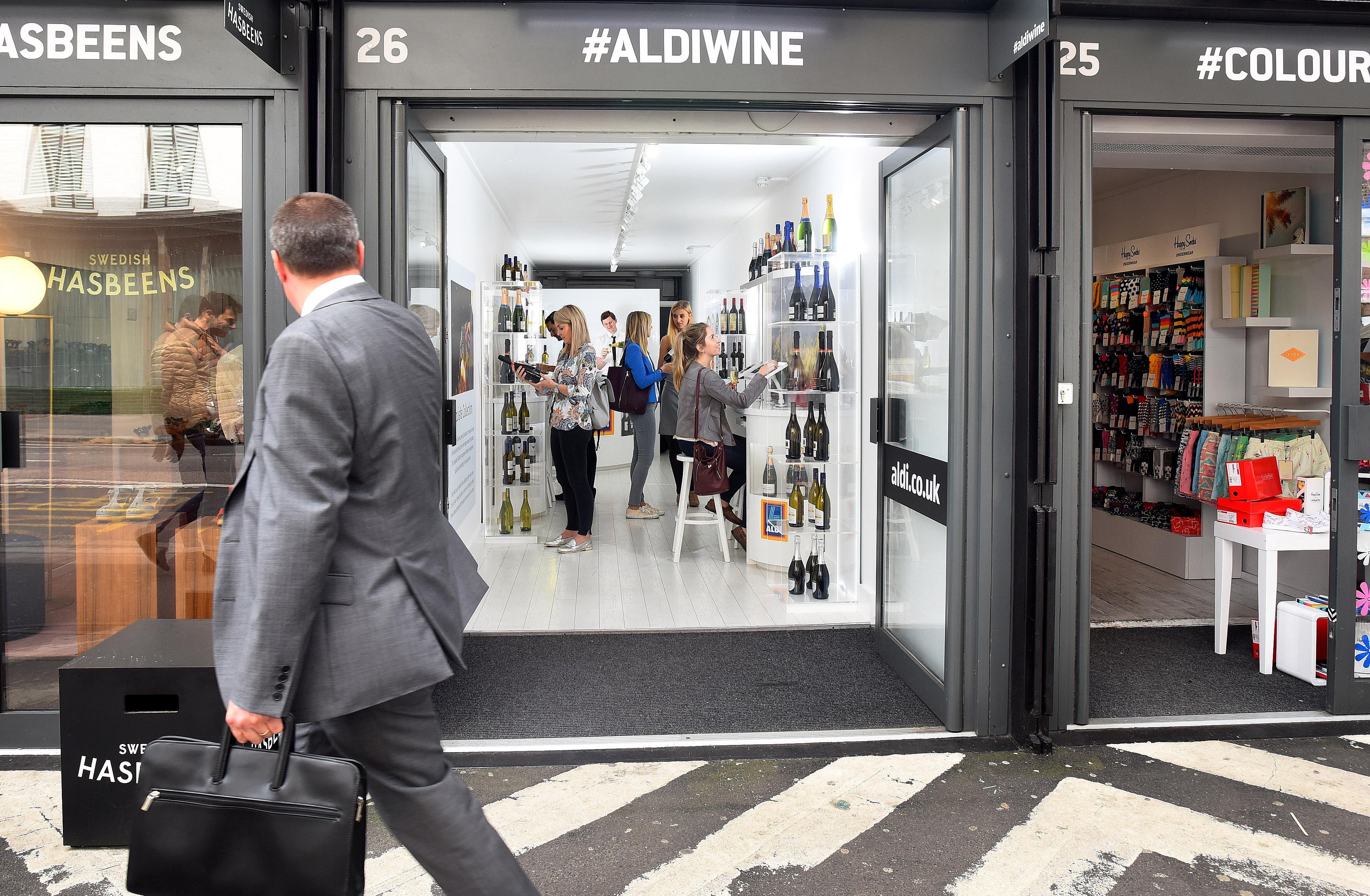 Clarion drive sales for Aldi Wine