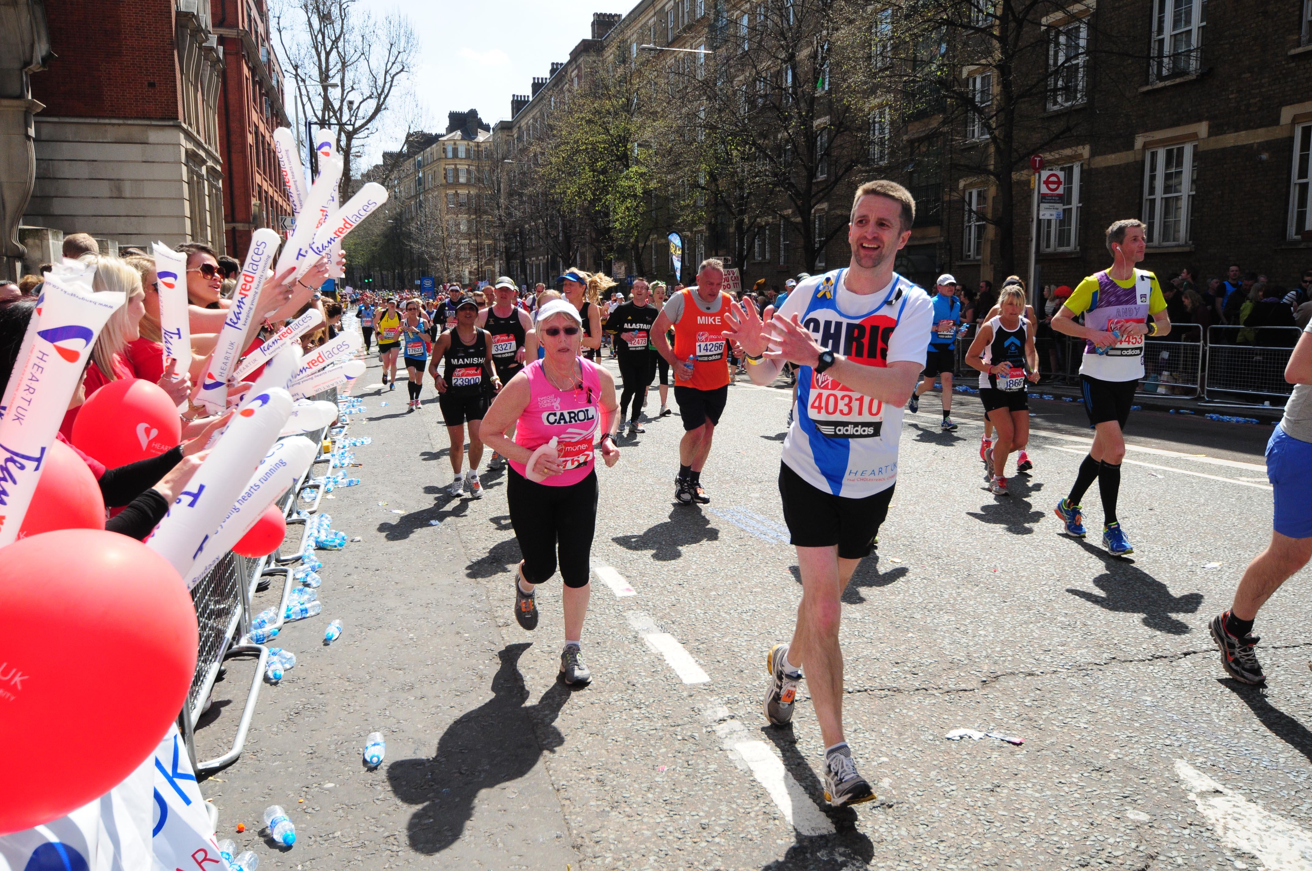 HEART UK, London Marathon